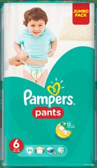 Pampers Plenkové kalhotky ActivePants 6 ExtraLarge Jumbo Pack 44 ks
