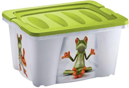 Jelenia Plast škatla za shranjevanje Žaba, 21 l