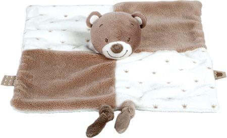 Nattou otroška odeja medvedek
