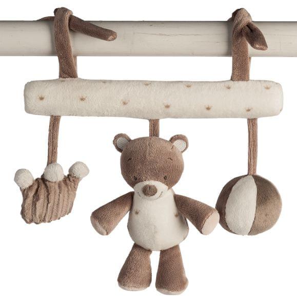 Nattou Hračka na zavěšení medvídek Tom