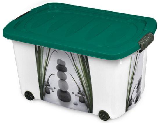 Jelenia Plast Úložný box s kolečky Zen 45 l
