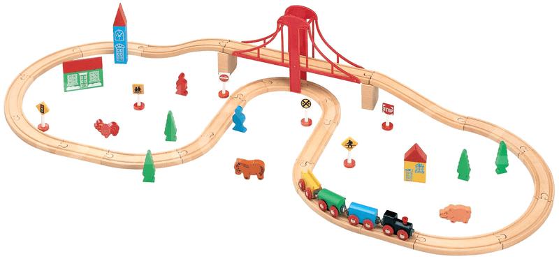 Maxim Vláčkodráha s velkým mostem - 50 kusů