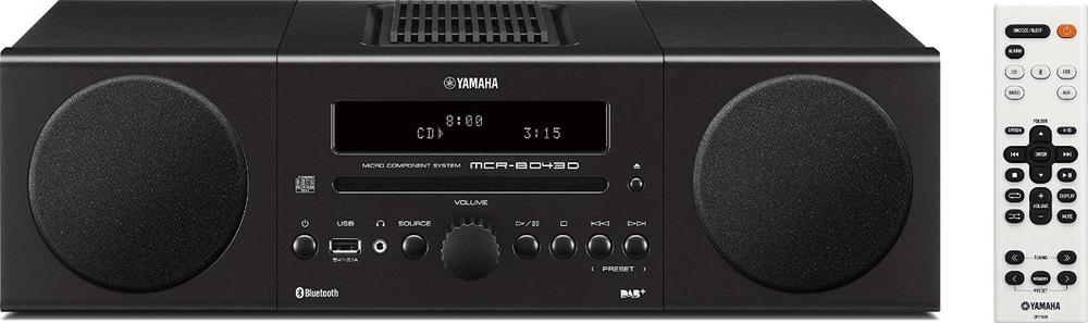 Yamaha MCR-B043D, černá