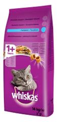 Whiskas Tonhal + Zöldség Száraz macskaeledel - 14 kg