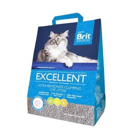 Brit Fresh for Cats Excellent Ultra Bentonite - odprta embalaža
