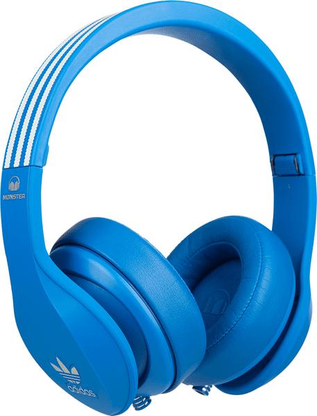 Monster adidas Originals Over-Ear, modrá