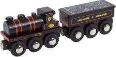 Bigjigs Rail Replika lokomotíva KWVR 957