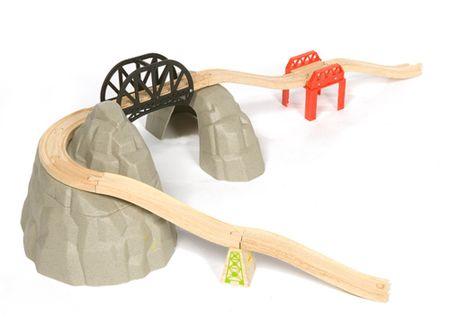 Bigjigs Rail Zestaw Alpejski Tor