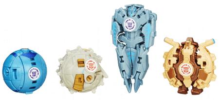 Transformers RID - pakiranje 4 mini figur