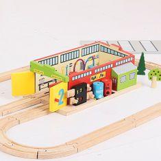 Bigjigs Rail Železničná opravovňa