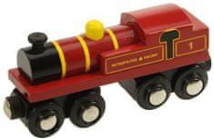 Bigjigs Rail Replika lokomotivy Metropolitan