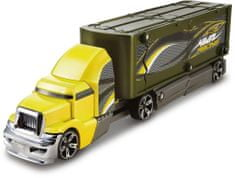 Hot Wheels Havarující tahač - žlutý