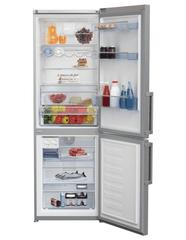 BEKO CNA 365 ED2ZX Kombinált hűtőszekrény, Inox