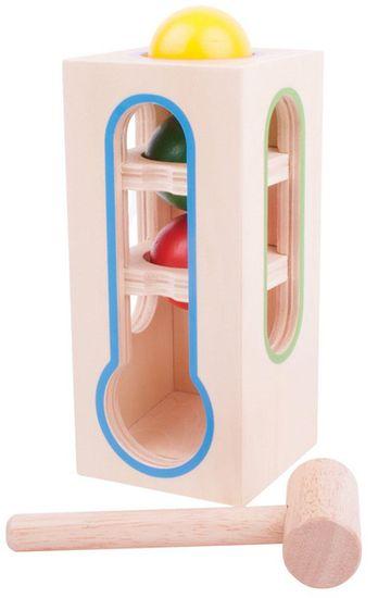 Bigjigs Toys Zatĺkačka - veža