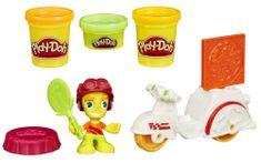 Play-Doh Town Pizzafutár Gyurmakészlet