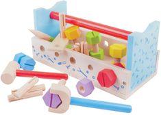 Bigjigs Toys Ponk a prepravka na náradie 2v1