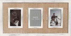 Postershop 3 ablakos képkeret, Fehér, 10x15 cm