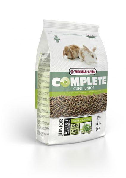 Versele Laga Cuni Junior Complete - pro mladé zakrslé a doma chované králíky 1,75 kg