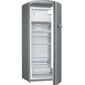 Gorenje ORB152X Kombinált hűtőszekrény, Ezüst