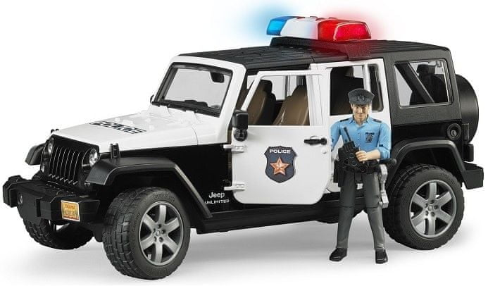 Bruder Jeep Wrangler Rubicon Policie