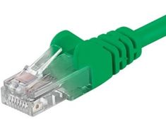 PremiumCord Patch kábel UTP CAT6, 3m, zelený