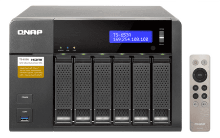Qnap strežnik za 6 diskov TS-653A NAS