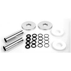 Zehnder Sada 2 krytek průměr 18mm, trubiček a vymezovacích kroužků, chrom 853738