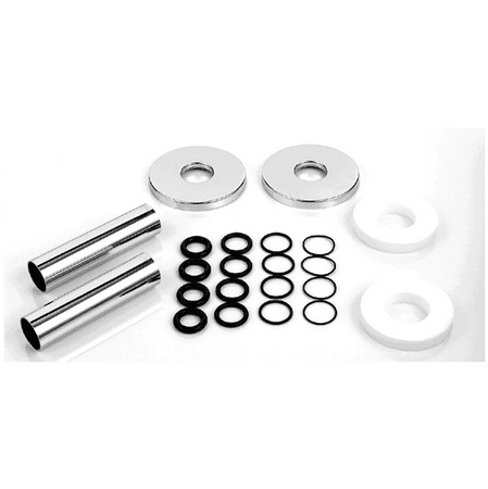 Zehnder Sada 2 krytek průměr 18mm, trubiček a vymezovacích kroužků, chrom 853738 - rozbaleno