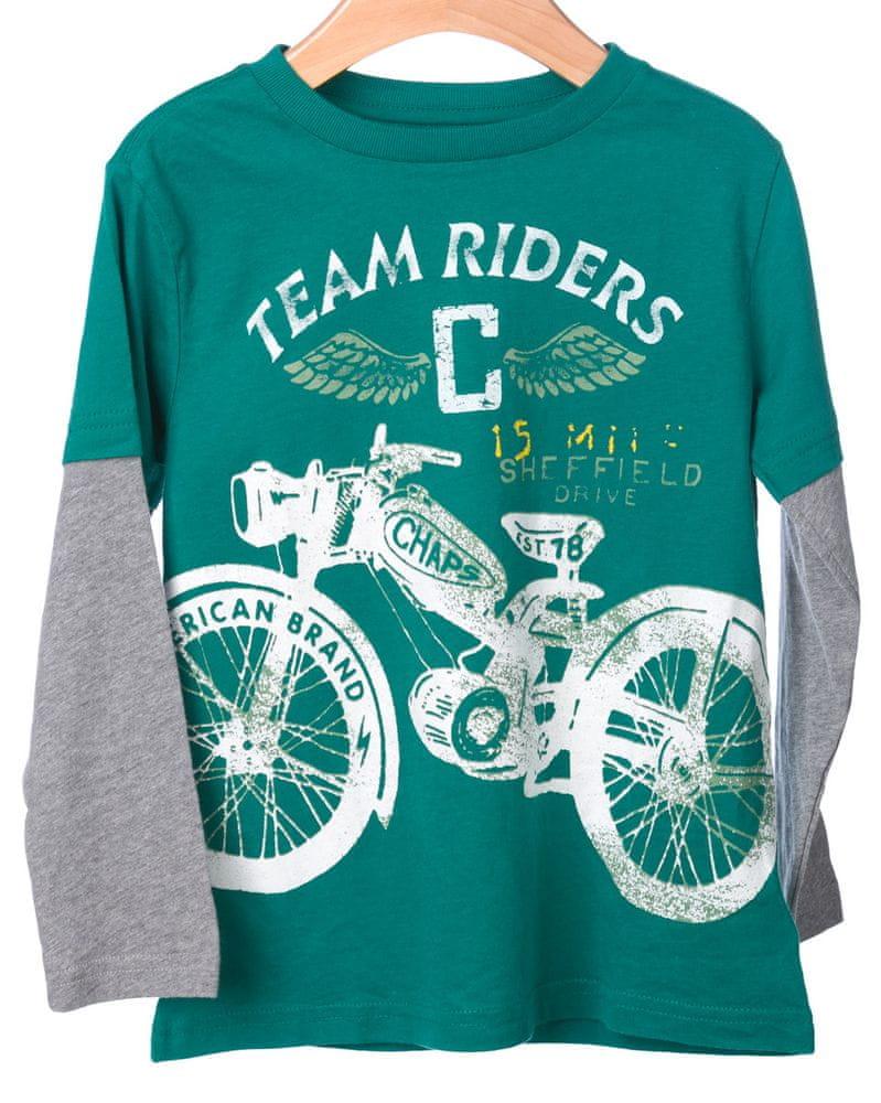 d9cc89eebf6 Chaps chlapecké tričko s dlouhým rukávem 116-122 zelená - Diskuze ...