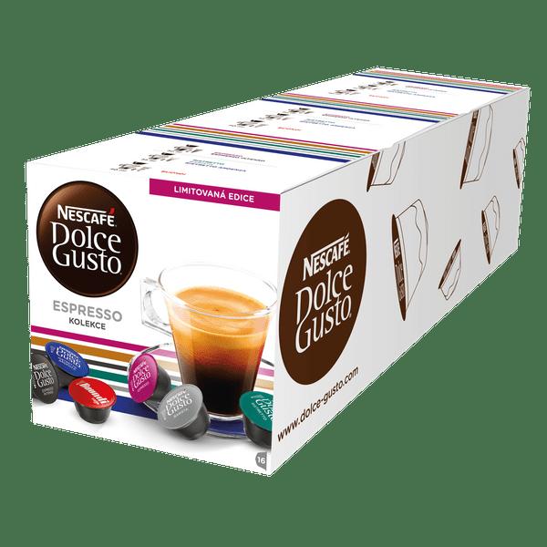 Nescafé Dolce Gusto 3x Balení kapslí - Černý Mix Box