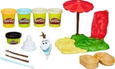 Play-Doh Jégvarázs: Nyaraló Olaf Gyurmakészlet