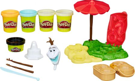 Play-Doh Frozen Olaf na plaži