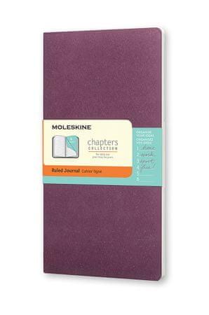 Moleskine beležka žepna, črtasta, mehke platnice, vijolična
