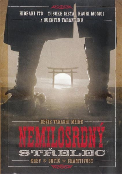 Nemilosrdný střelec - DVD