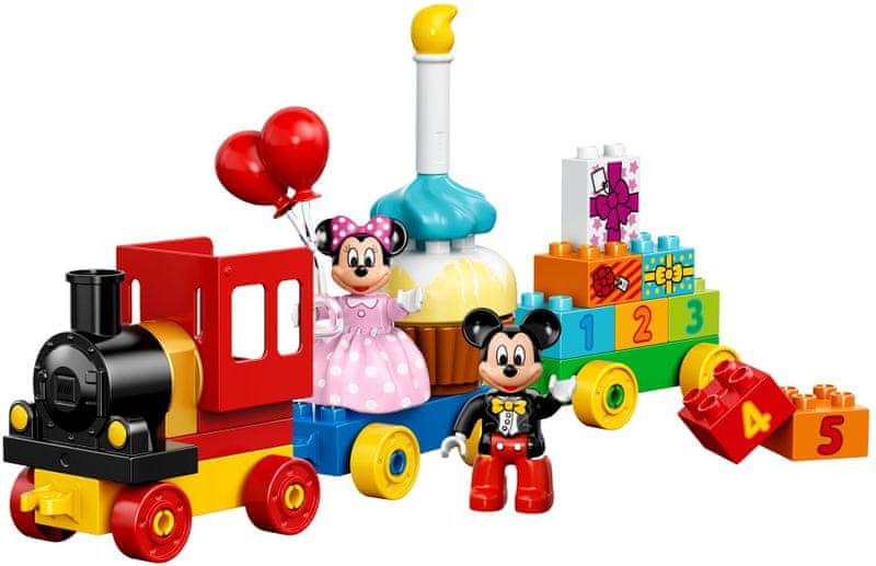 LEGO® DUPLO 10597 Přehlídka k narozeninám Mickeyho a Minnie