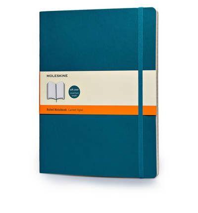 Moleskine beležka X velika, črtasta, mehke platnice, svetlo modra