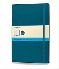 Moleskine beležka X velika, pike, mehke platnice, svetlo modra