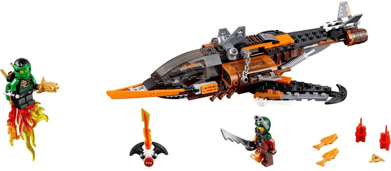 LEGO® Ninjago 70601 Žraločí letoun