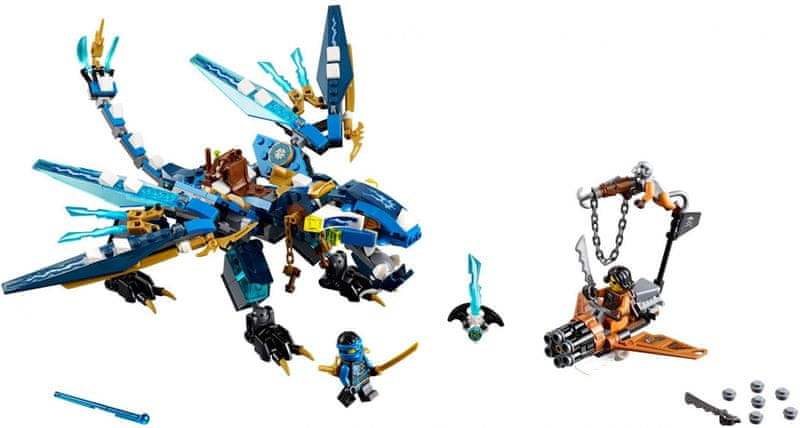 LEGO® Ninjago 70602 Jayův drak blesku