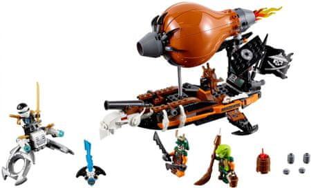 LEGO Ninjago 70603 Pregon s cepelinom