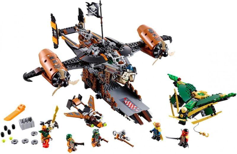 LEGO® Ninjago 70605 Smolná tvrz