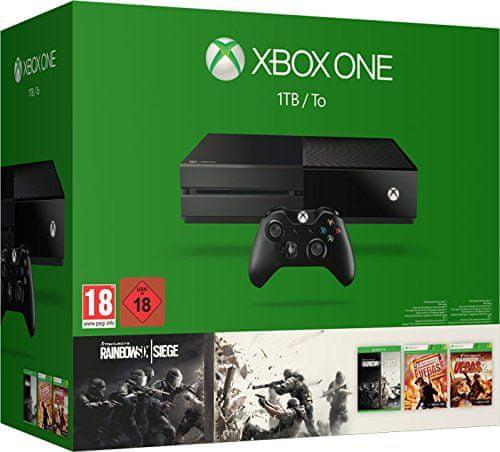 Microsoft Xbox One 1TB + Rainbow Six: Siege + Rainbow Six Vegas 1 + 2