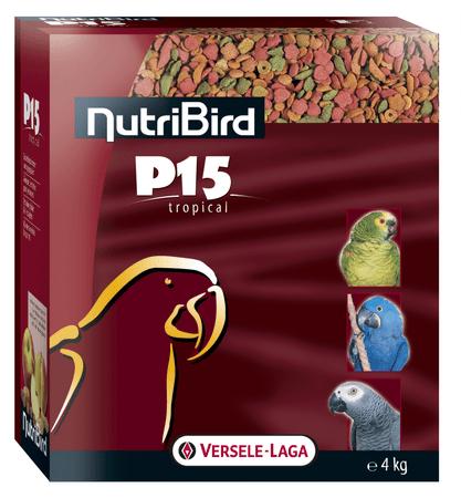 Versele Laga NutriBird P15 Tropical hrana za velike papige, 4 kg