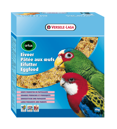 Versele Laga Orlux Eggfood Parrots and Large Parakeets hrana za papige, 4 kg