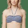 1 - s.Oliver női bikinialsó 38C kék