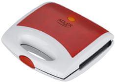 Adler toaster AD3020 rdeč, 750 W