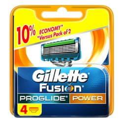 Gillette wkłady do maszynki Fusion Proglide Power - 4 sztuki
