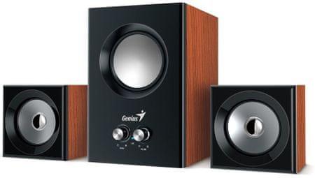 Genius stereo leseni zvočniki SW-2.1 375