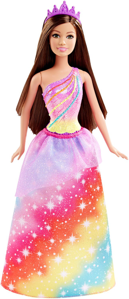Mattel Barbie Princezna bruneta