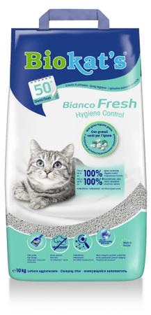 Gimpet Biokats Bianco Fresh macskaalom, 10 l
